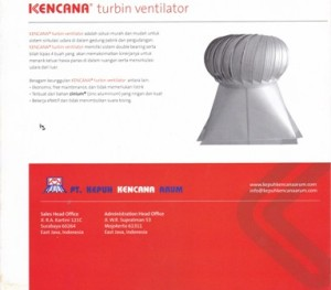 TURBINE VENTILATOR CYCLONE,Turbine Ventilator Kencana
