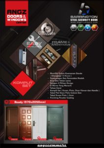 FLAYER STEEL SECURITY DOOR ALT 3