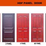 HDF Panel Excellent Door