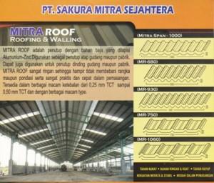 Atap Zincalum Mitra Roof