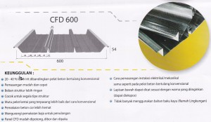 BONDEK / FLOORDECK / DECKING,Floordeck CFD 600