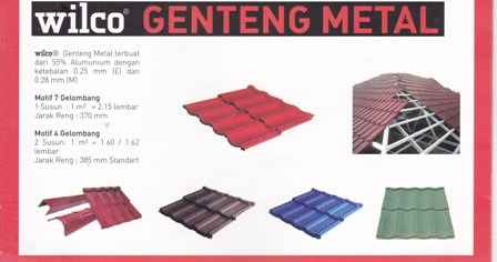 Genteng Metal wilco 2