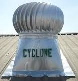 Cyclone turbine ventilator