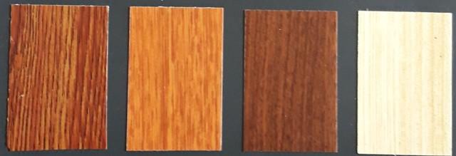 Contoh PVC Sheet serat kayu