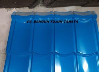 Genteng Metal Warna Biru